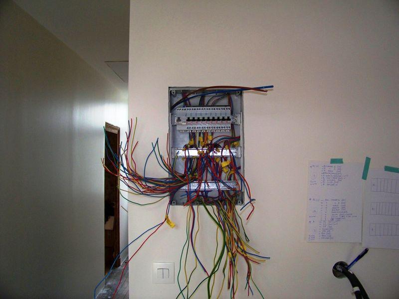 cablage electricien tableau electrique maison caumont vaucluse